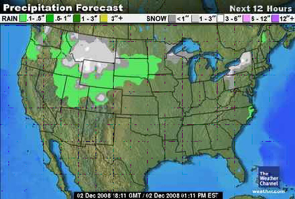 Show The Weather Map.Weather Satellites And Maps