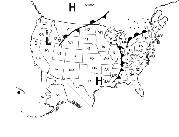 map1webjpg – Reading a Weather Map Worksheet