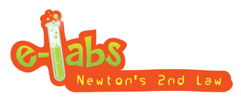 the Newton's Laws II e-Labs Logo